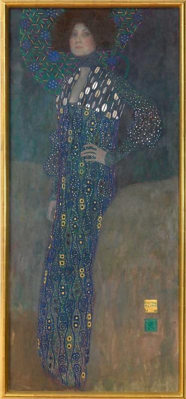 Gustav Klimt, Portrait of Emilie Floge, 1902 (SAAL VI)