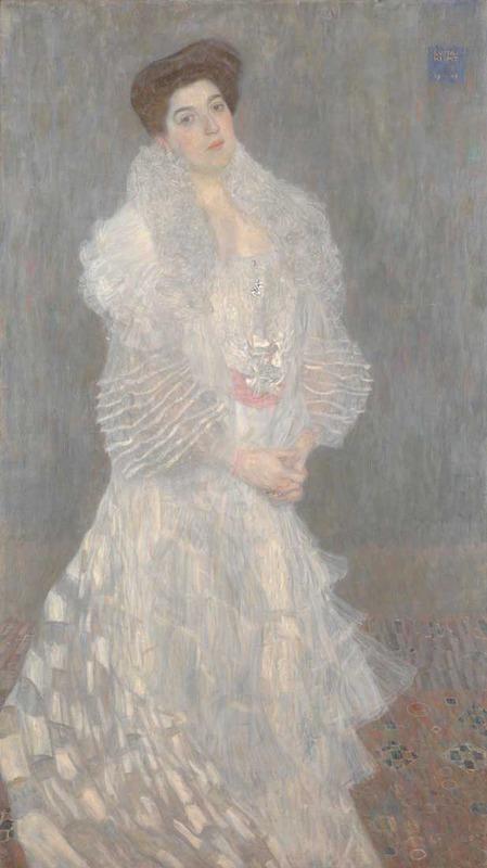 Gustav Klimt, Portrait of Hermine Gallia, 1904 (SAAL VII)
