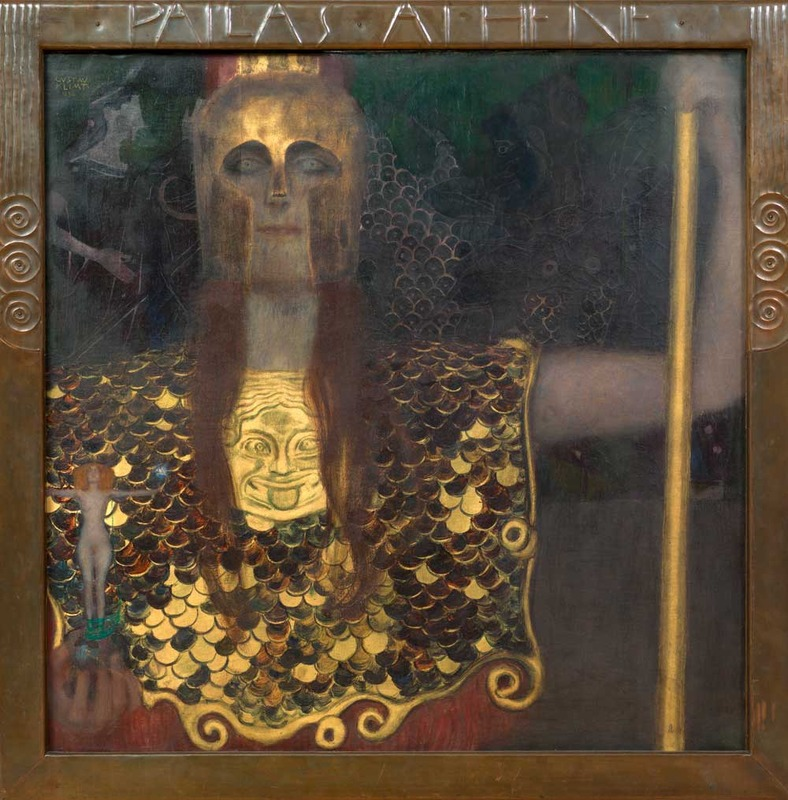 Gustav Klimt, Pallas Athene, 1898 (SAAL I)