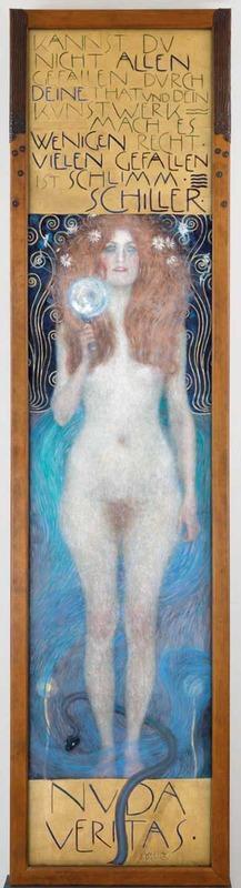 Gustav Klimt, Nuda Veritas, 1899 (SAAL III)