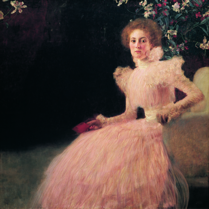 Gustav Klimt, Portrait of Sonja Knips, 1898 (SAAL I)