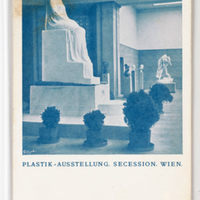 Plastik-Ausstellung. Secession. Wien. [Postcards with installation views of the Wiener Secession]--[picture].