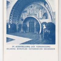 IV. Ausstellung der Vereinigung Bildend. Künstler Österreichs Secession. [Postcards with installation views of the Wiener Secession]--[picture].