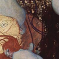 Gustav Klimt, Goldfish, 1902 (SAAL III)