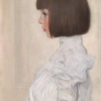Gustav Klimt, Portrait of Helene Klimt, 1898 (SAAL VII)