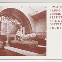IV. Ausstellung der Vereinigung Bildender Künstler Österreichs Secession. [Postcards with installation views of the Wiener Secession]--[picture].