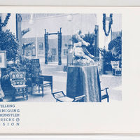 II. Ausstellung der Vereinigung Bildender Künstler Österreichs Secession. [Postcards with installation views of the Wiener Secession]--[picture].