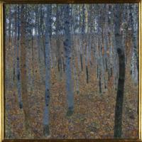 Gustav Klimt, Beech Grove I, 1902 (SAAL V)