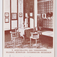 V. Ausstellung der Vereinigung Bildend. Künstler Österreichs Secession. [Postcards with installation views of the Wiener Secession]--[picture].